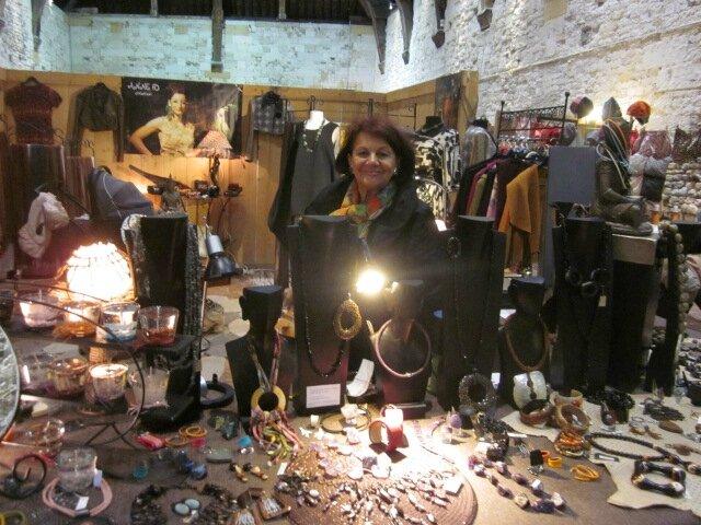2015 - octobre - 30 (et 1er novembre) - Salon de la Création de Honfleur - Stand ANNE FO Création (2)