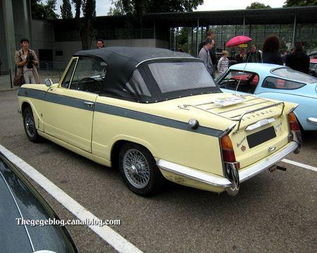 Triumph herald Vitesse 6 convertible de 1963 (Tako Folies Cernay 2011) 02