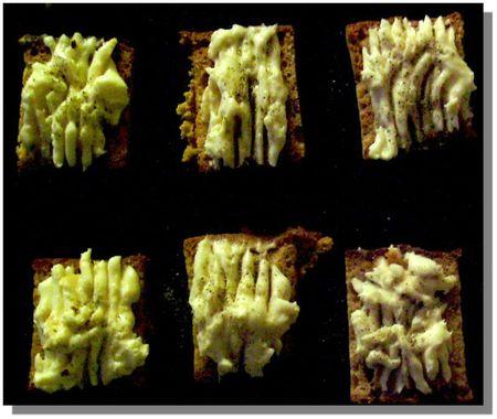Toast au pain d'épice et Epoisses