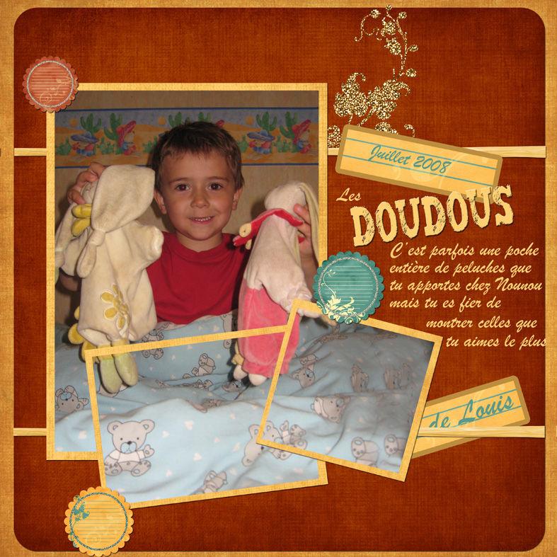 Les doudous de Louis
