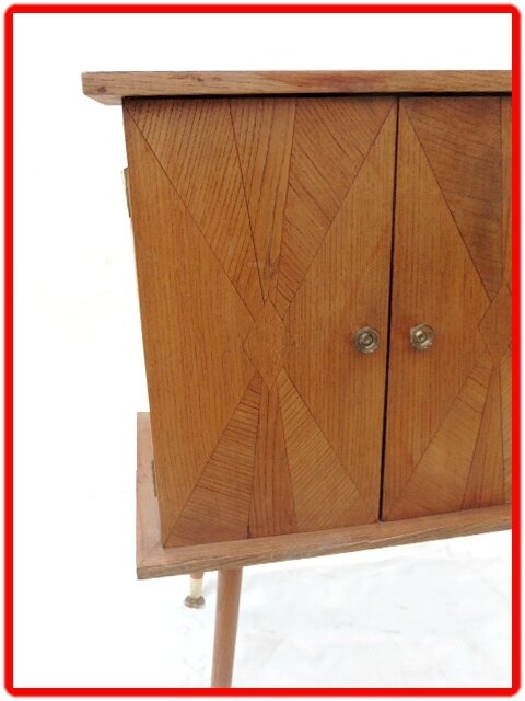 commode, meuble tv vintage 1960