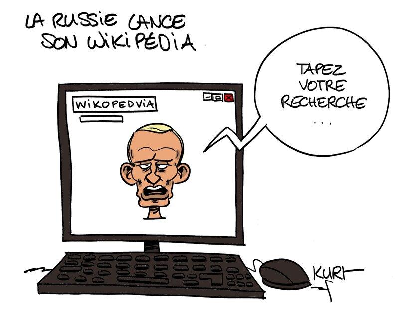 la russie lance son wikipedia