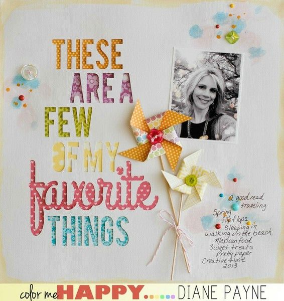Favorite Things by Diane Payne