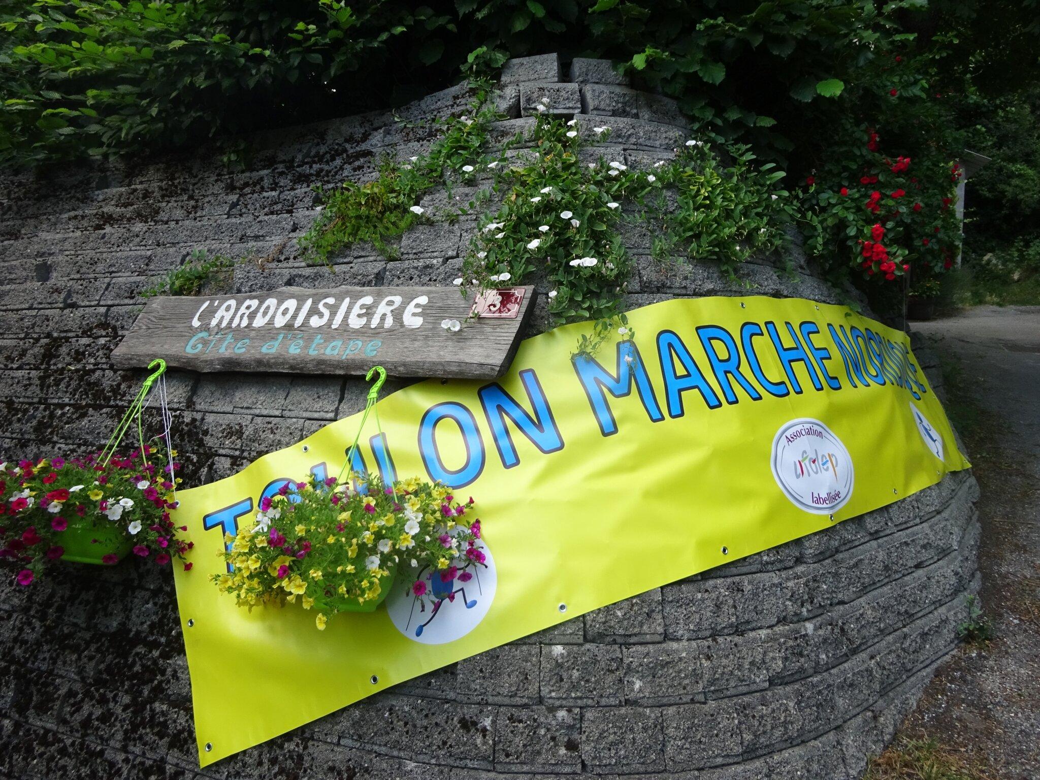 Toulon Marche Nordique en stage à Jausiers