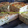 Cake courgette/surimi/boursin (avec ou sans thermomix)