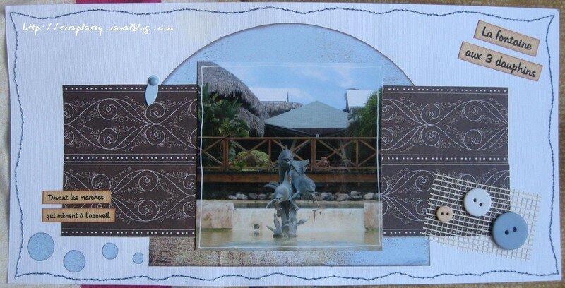 La fontaine aux 3 dauphins