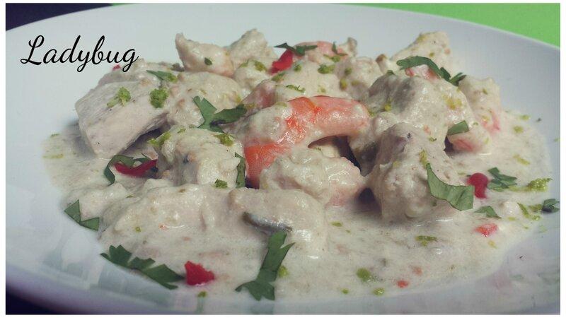 Xinxim de poulet au crevettes (2)