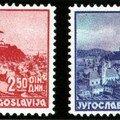 YOUGOSLAVIE (5 timbres)