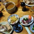 Souper chez des amis...le poisson frais de Kadogawa...vraiment le meilleur!!!