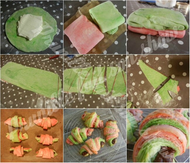 collage croissants colorés prunillefee