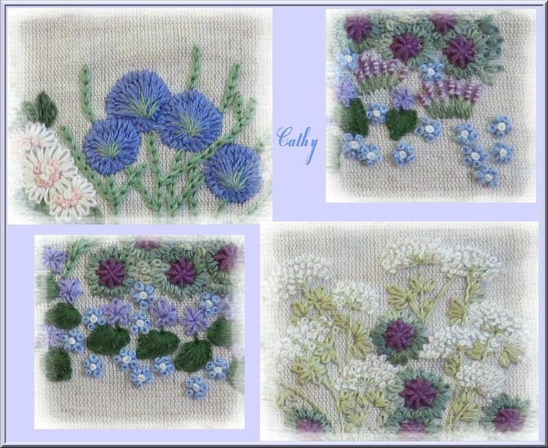 Mosaique fleurs 1