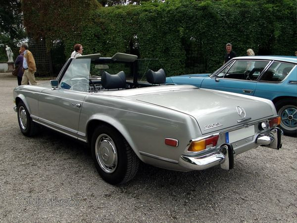 mercedes 280 sl roadster version us 1969 4