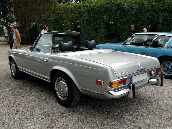 mercedes 280 sl roadster version us 1969 4