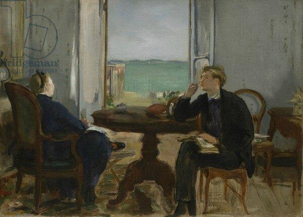 Manet et 1870 selon darragon notes de lecture m moire for Devant le miroir manet