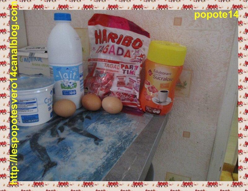 crèmes aux fraises tagada1