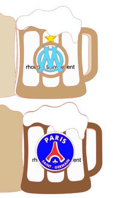 bière OM & PSG