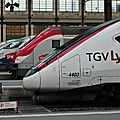 TGV Lyria & co., Paris gare de Lyon