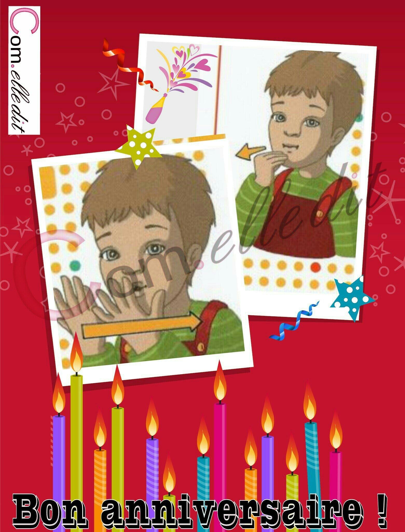 Bon anniversaire en LSF