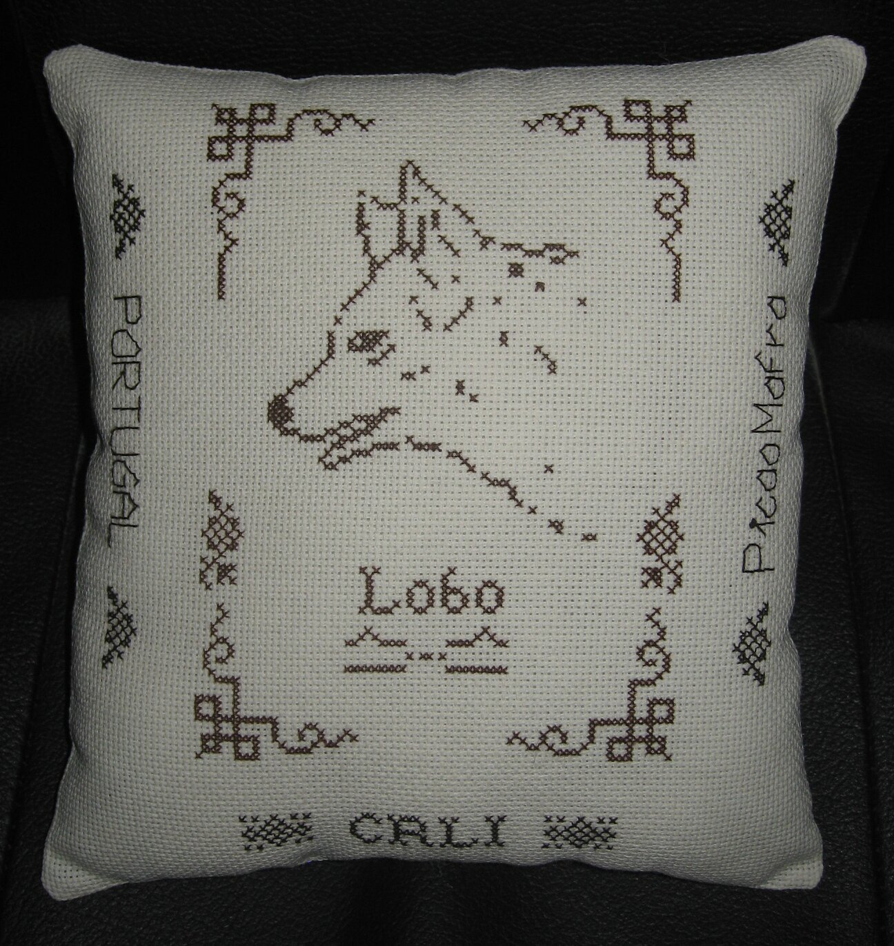 Coussin Loup
