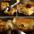 Crumble aux cerises