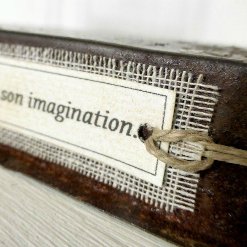 Un p'tit coin pour rêver, fil de fer, bois, papier, lin, métal, sculpture fil de fer, arbre fil de fer (6)