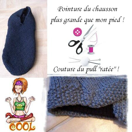 * Chausson et pull *