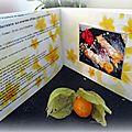 J'ai reçu le livre de mes 10 recettes préférées............................