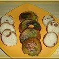 Champignons au beurre d'escargot
