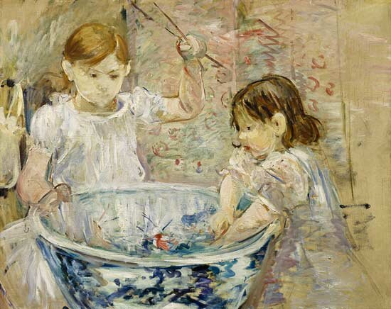 Morisot_Berthe_Children_at_the_bas