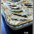 Lasagnes printanieres - lasañas primaverales