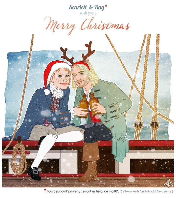 Scarlett & Dag - Christmas card 2015