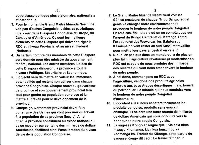 POUR LE GRAND MAITE MUANDA NSEMI AMELIORER SIGNIFIE b