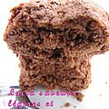 Financiers légers au chocolat (ww)