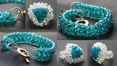 comment faire un bracelet en perle facile bijoux populaires. Black Bedroom Furniture Sets. Home Design Ideas