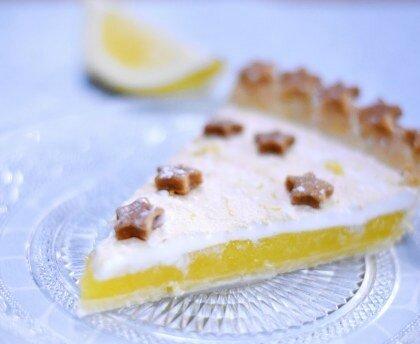 image de tatrte au citron meringuee
