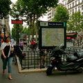 Station Rue des Boulets Ligne 9.
