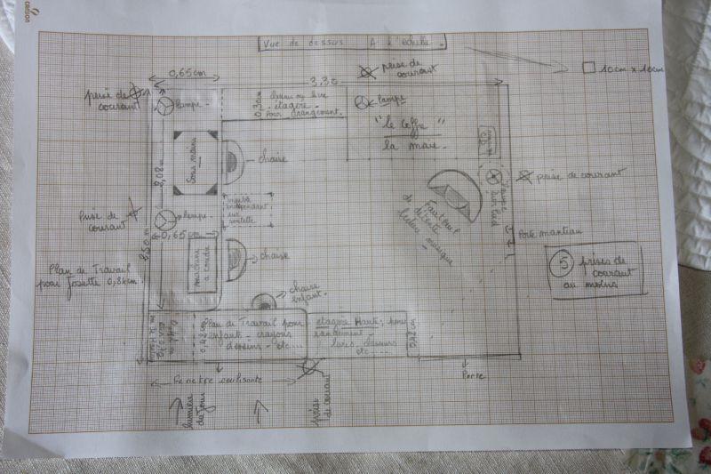 Naissance d 39 un petit atelier en sologne une fee d 39 hiver - Plan d atelier de bricolage ...