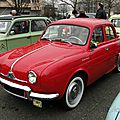 Renault dauphine-1956 à 1967