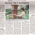 Article paru dans les dernieres nouvelles d'alsace du 18 juillet 2011