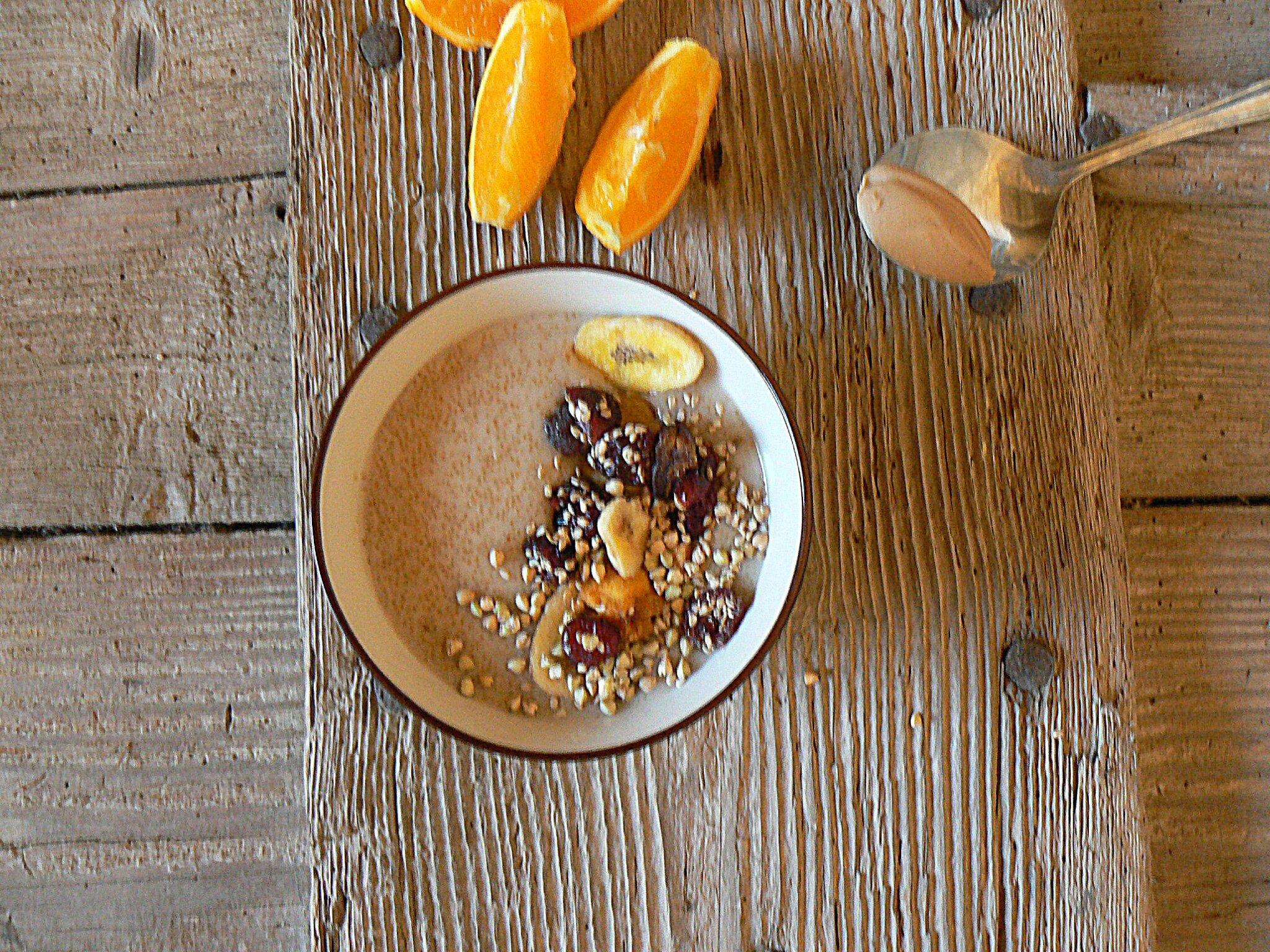 Porridge d'amaranthe aux Crusti fruits