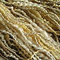 Macro fil laine et soie