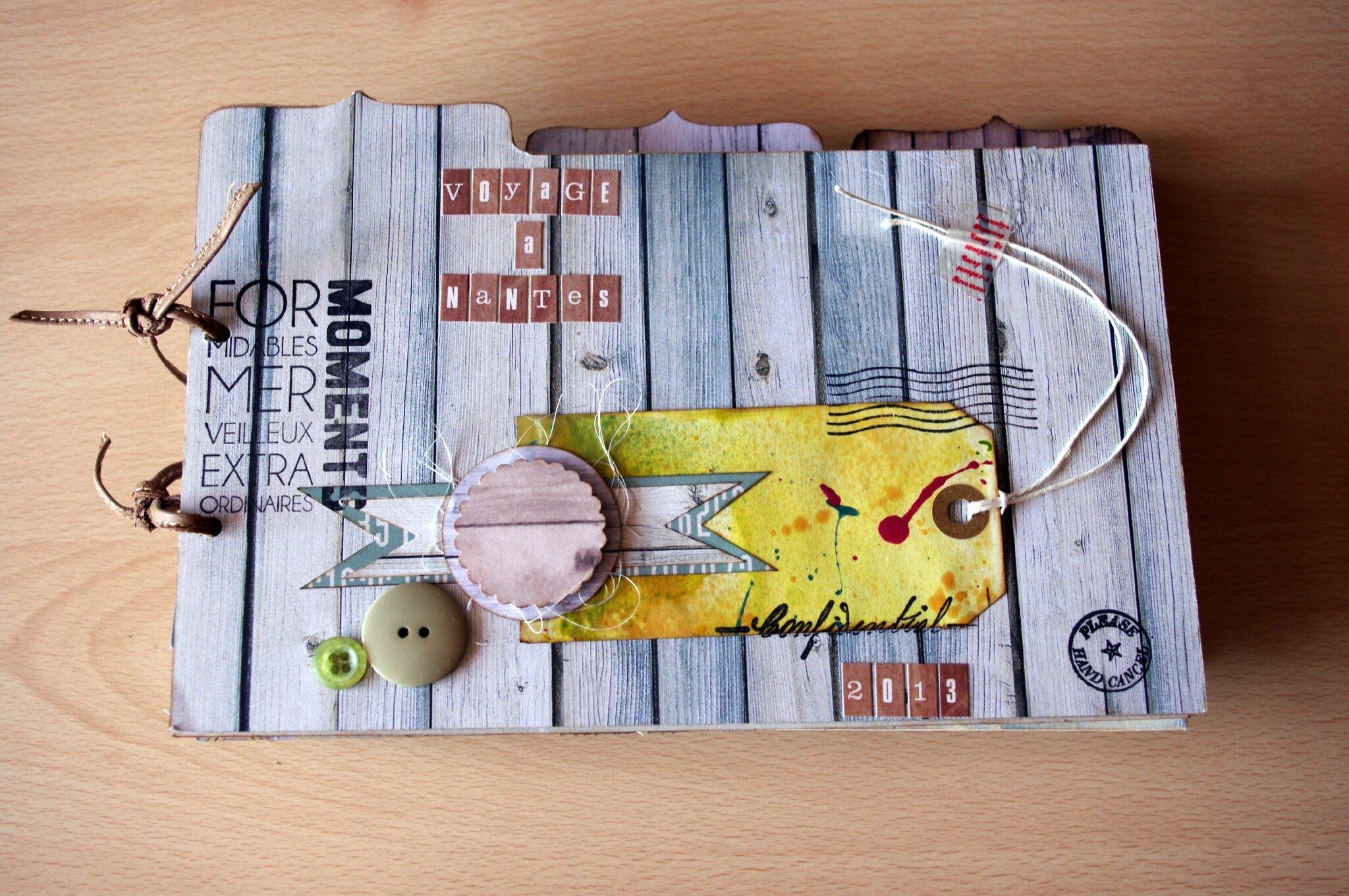 """Fabuleux Mini album """"Vacances en Bretagne"""" - LE SCRAP DU BIBOU ER97"""