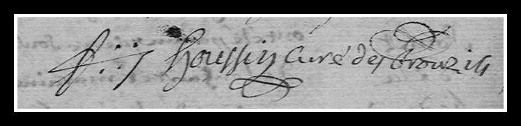 signature François Houssin Les Brouzils
