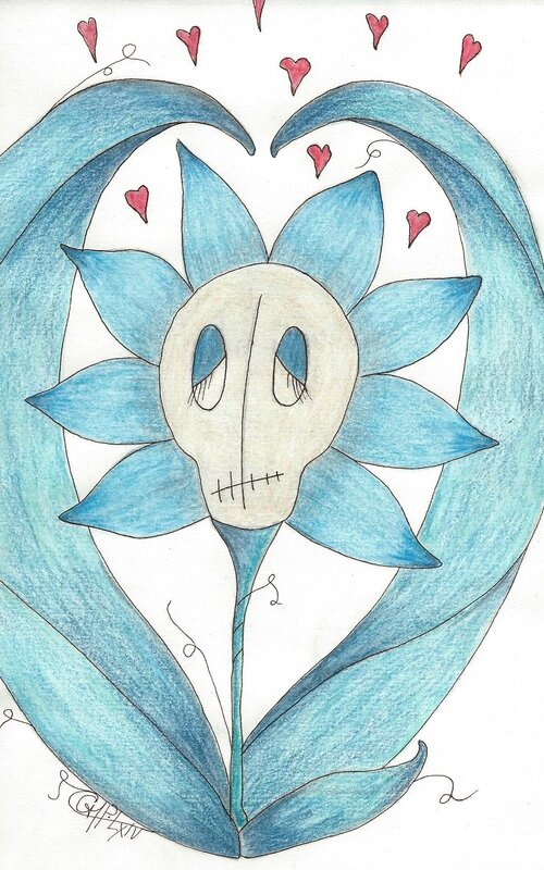osca papillune Vieille fleur bleue_stVal14