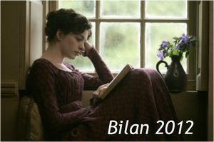 Anne Hathaway as Jane Austen reading