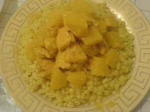 poulet_curry_ananas