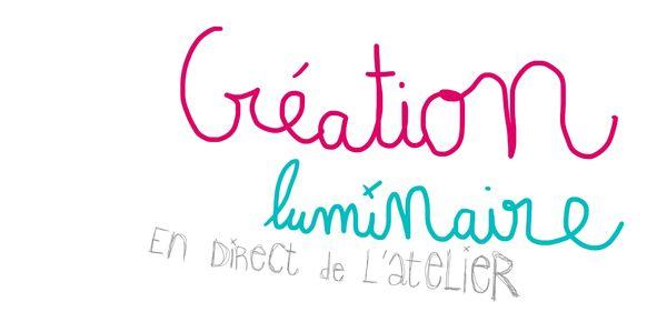 creation luminaire titre