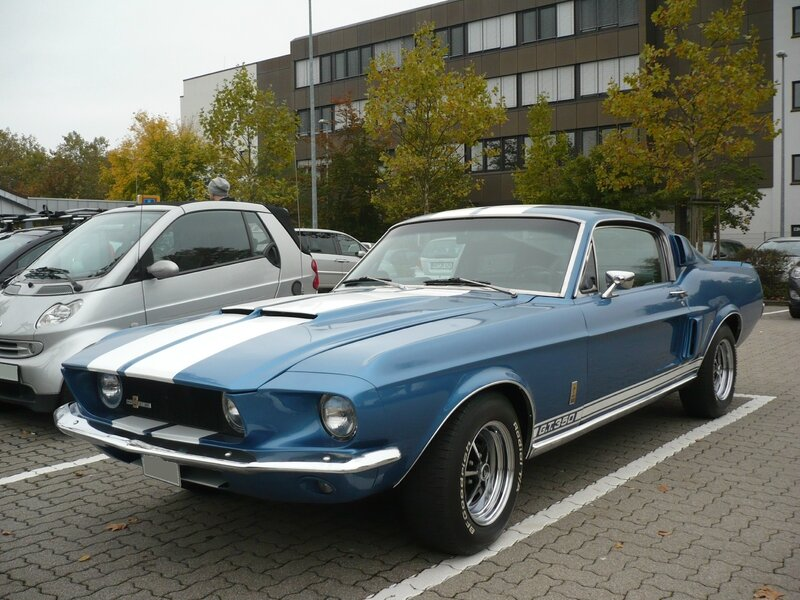 FORD Mustang Shelby Cobra GT350 fastback 1967 Mannheim (1)