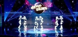 intergalactique danse