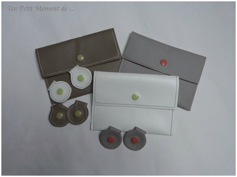 Trio de pochettes pour voiture 1